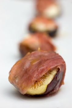Ina Garten | Roasted Figs with Prosciutto