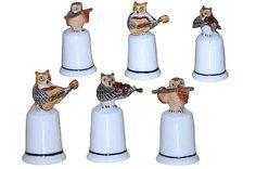 KLIMAR -Miniatura Porcelana - Dedales - KLIMAR -