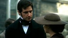 Richard Armitage (Mr. John Thornton) & Daniela Denby-Ashe (Margaret Hale) - North & South directed by Brian Percival (TV, Mini-Series, BBC, 2004) #elizabethgaskell Elizabeth Gaskell, Period Drama Series, Period Dramas, Period Movies, Richard Armitage, Sinead Cusack, Rupert Evans, North And South, Another Period