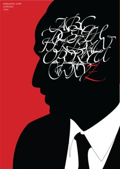 Paige Firnberg: Hermann Zapf Brochure & Poster