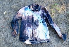 DIY- Galaxy Clothes from Stacie - I'll try tie dye or food coloring instead of the fabric spray paint next time, feels a little stiff.