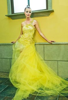 yellow gown $777
