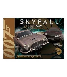 AUTODRÁHA - JAMES BOND SKYFALL 007