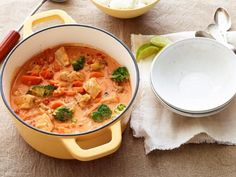 Get Easy Chicken Curry with Vegetables Recipe from Food Network