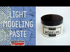 Modell paszta amely nem sima felületeken is jól használható. Modeling Paste, Mixed Media Art, Mix Media, Texture Painting, Decoupage, Make It Yourself, Tvar, Prints, Diy