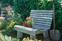 Photo: Tim Street-Porter | thisoldhouse.com | from How to Build a Garden Bench
