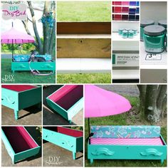 DIY Dog Bed from a Dresser Drawer...When I get my first puppy I'm gonna make him one of these