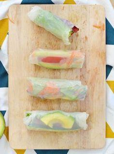Si comme moi, vous en avez marre de l'éternel sandwich qu'on ressort à chaque pique-nique, vous allez adorer mon alternative toute fraiche et facile à préparer : les rouleaux de printemps aux légumes ! (vegan, sans gluten) http://www.sweetandsour.fr