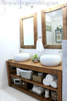the space between rustic master bathroom &; the space between toni_and_levi jennifermerkoff Bathroom bathroom decor ideas luxury furniture living room ideas home furniture […] farmhouse guest room Farmhouse Bathroom Decor, Modern Farmhouse Bathroom, Modern Bathroom, Rustic Bathrooms, Bathroom Decor, Bathroom Design, Apartment Bathroom, Home Decor, Rustic Master Bathroom