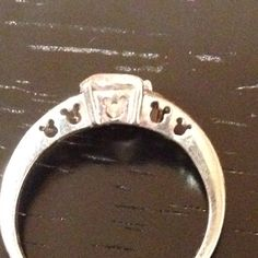 I love Mickey!  Notice the hidden mickeys on my ring.