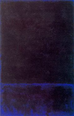 """Untitled,"" 1968, Mark Rothko. Private Collection."