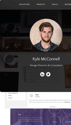 Build a fully customizable Personal Website in seconds - for free.