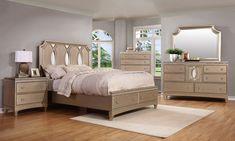 Queen Upholstered Bedroom Sets for Sale: 5 & Suites Bedroom Sets For Sale, King Bedroom Sets, Queen Bedroom, Beds For Sale, Bed Sale, Upholstered Bedroom Set, Bedroom Furniture, Bedroom Decor, Queen Headboard