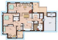 Pohjapiirros 1 Kotitalo, Kotitalo Varsankello Secret Rooms, Layouts, House Plans, House Ideas, Floor Plans, Flooring, How To Plan, Inspiration, Home Decor