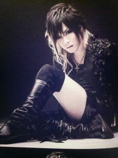 """Uruha's hair from """"Division"""" <3"""
