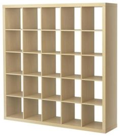 Expedit Shelving Unit, Birch Effect - modern - bookcases cabinets and computer armoires - IKEA