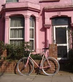 House with matching bike.