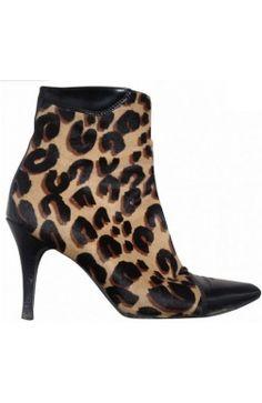 Louis #Vuitton Low #Boots #Poulain #leopard cuir noir 38,5 #kollas #kollasshop