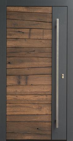 Ideas for rustic front door entrance window Sliding Door Design, Front Door Design, Entrance Design, Front Door Decor, Sliding Glass Door, Sliding Doors, Grey Front Doors, Modern Front Door, The Doors