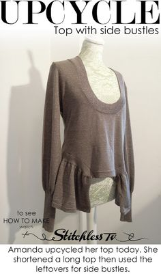 Refashion Co-op: Upcycled Top in minutes