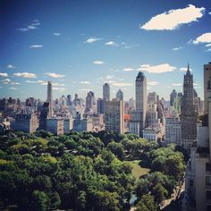 A spectacular view overlooking Central Park from the NYAC's Solarium.