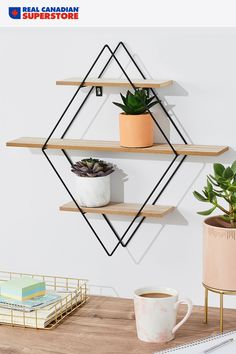 Take a shelfie! You'll find a shelf to match your style and budget at Real Canadian Superstore. Interior Design Living Room, Living Room Decor, Bedroom Decor, Wall Decor, Interior Paint Colors, Paint Colors For Home, 3d Models, Reno, Home Furniture