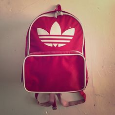 """Adidas Old School Ruck Sack Super dope vintage Adidas backpack GREAT FOR ALL AGES / 27"""" strap can be adjusted to fit / 5"""" width expansion / 9"""" across / has outer pencil pocket that measures 9x5"""" / zipper works / GOOD CONDITION / TRADES BEST OFFER❌ Adidas Bags Backpacks"""