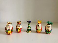 Vintage Russian hand painted christmas eggs, Vintage Christmas Decorations - My CMS 1st Christmas, Vintage Christmas, Christmas Gifts, Festival Decorations, Christmas Tree Decorations, Egg Decorating, Beautiful Christmas, Flower Vases, Vintage Decor