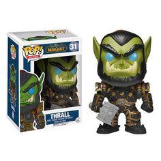 Blizzard Figurines: Warcraft, Starcraft & Diablo Funko Pop Collectibles - Thrall Funko Pop