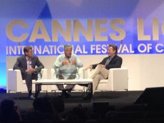 Maurice Levy takes the stage and hosts a panel with Yahoo!'s @RossLevinsohn and Marc Pritchard from P #CannesLions pic.twitter.com/PzxmqnAS