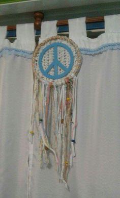 Atrapasueños paz artesanal