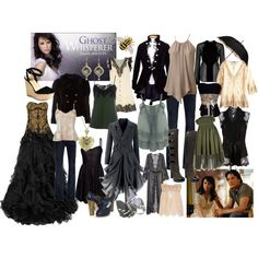 "My first wardrobe plot for Melinda Gordon from ""Ghost Whisperer"" - Bri (b-scottyer on Polyvore)"
