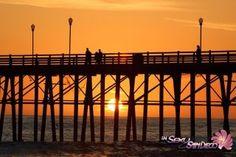 OB Pier At Sunset
