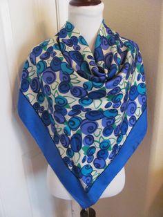 d5da0f8163e 66 Best Vintage scarves images in 2018 | Vintage scarf, Silk Scarves ...