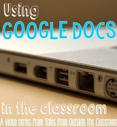 A video tutorial on using Google Docs in the classroom