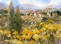 """Wine Country"" by Brenda Swenson"