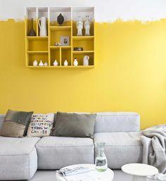 POP OF COLOR!! #interior #styling #yellow #popofcolor #spring #vtwonen #homedeco #inspiration #scandinavian #design #furniture #architecture #interiør #interiordesign #homestyling by larsvanbeers