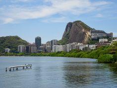Rodrigo de Freitas Lagoon in Rio Rio De Janeiro