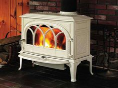 wood burning stove in fireplace - Google Search