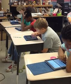 iPads in the Classroom - Follow this blog for resources and ideas on using iPads in the classroom.  My class will be participating in active research on the effectiveness of iPads as an educational tool.