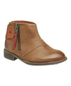 Take a look at this Camel Roller Ankle Boot - Kids by Kickers on #zulily today!