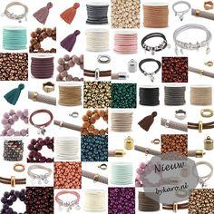 Heel veel nieuwe artikelen!   www.bykaro.nl voor kralen, bedels en meer...