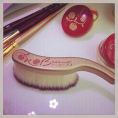 Long Hair Finishing Powder Brush | Besame Cosmetics