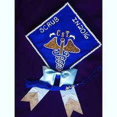 Surgical Technologist Grad Cap CST | China | Surgical tech ...