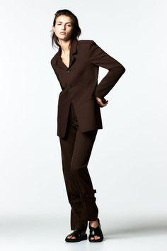 Zara United States, Straight Leg Pants, Dark Brown, Legs, Zip, Photography, Clothes, Women, Style