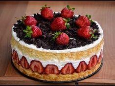 Recipes Tasty Food - YouTube ТОРТ ФРЕЗЬЕ [Французский Десерт]/Cake Fraisier ОЧЕНЬ ВКУСНЫЙ и Самый известный десерт во Франции - #ТортФрезье. #Торт изысканный, можно сказать очень эффектный внешний вид, а готовить его не составить большого труда!