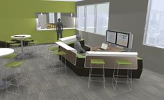 Rendering created in CET Designer by Madelaine Eschrich from Forrer Business Interiors #CETDesignerAwards
