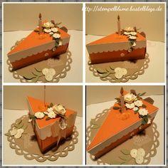 Thinlits-Form Tortenstück, Stempelset Süße Stückchen, Stampin'UP! , demnächst auf meinem Blog