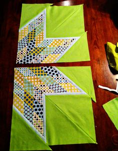 "scrappy Lone star quilt tutorial with no ""y"" seams"