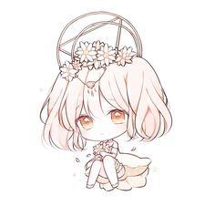 Anime Girls, Anime Girl Cute, Kawaii Anime Girl, Anime Art Girl, Cute Anime Chibi, Kawaii Chibi, Cute Animal Drawings Kawaii, Cute Drawings, Vegito Y Gogeta